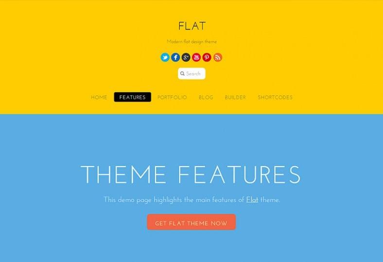 flat yellow responsive wordpress template 69 788x539