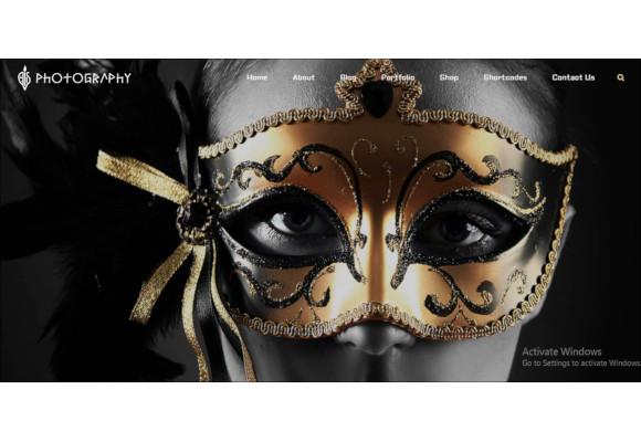flexible full screen woocommerce photography portfolio theme