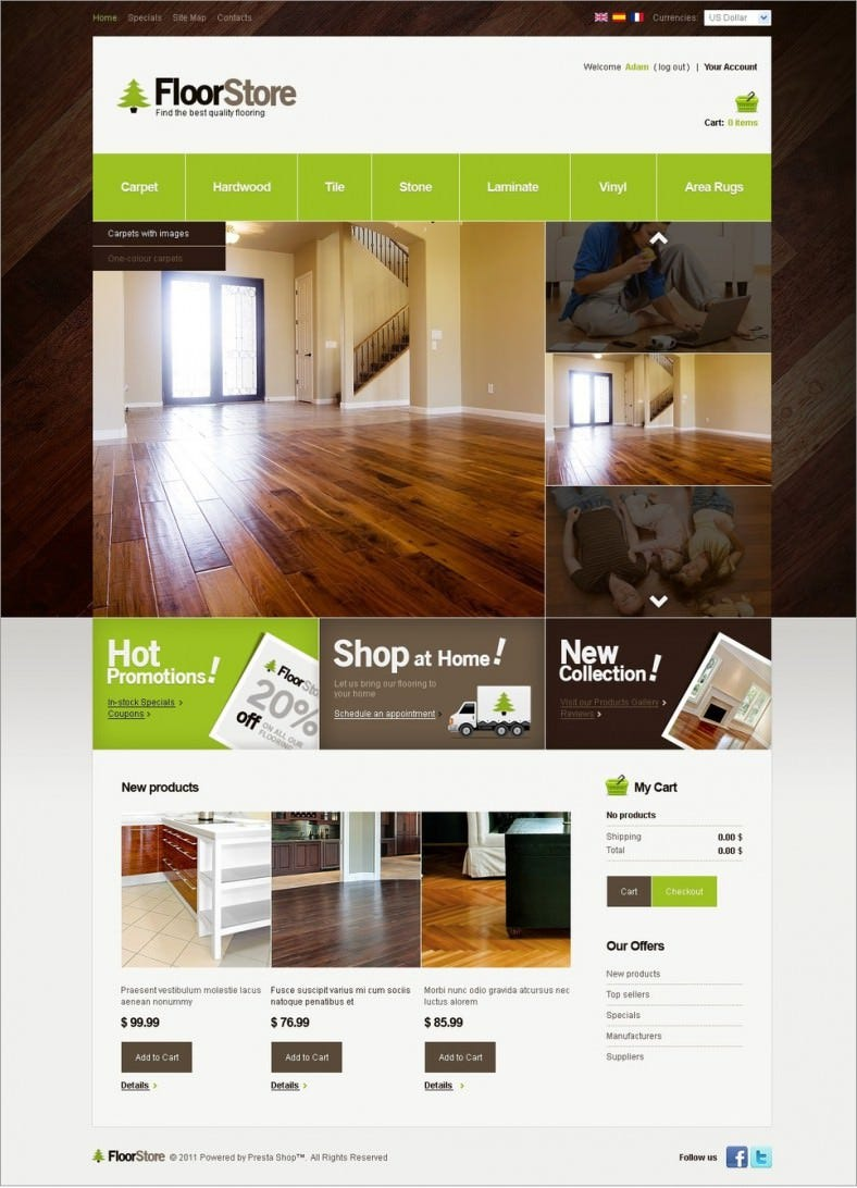 27+ furniture website themes & templates | free & premium templates.