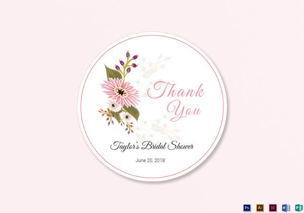floral-wedding-label-psd-template