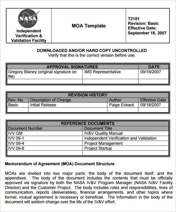 Army Memorandum Template 4 Free Word PDF Documents Download – Template for a Memorandum