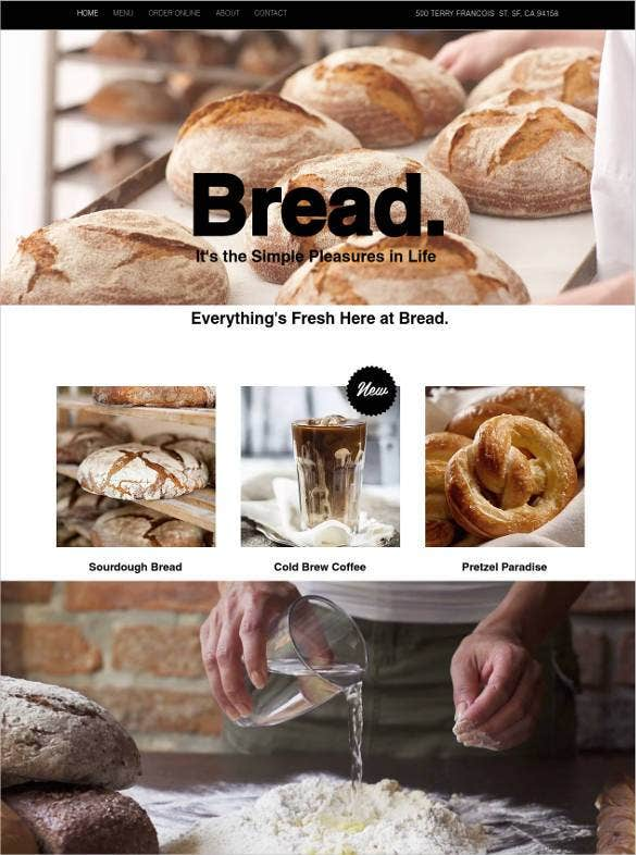 free-bakery-bread-website-template