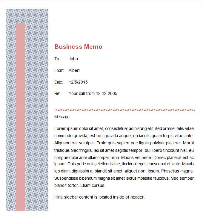 Doc404527 Memo Template Free Download Company Memo Template – Download Memo Template