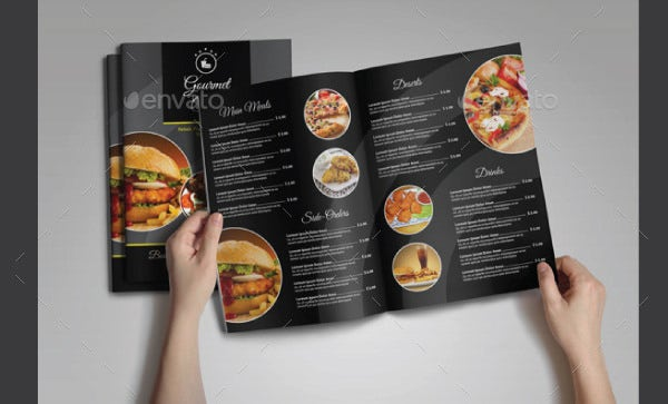 Food Menu Template 35 Free Word PDF PSD EPS InDesign Format – Free Food Menu Template