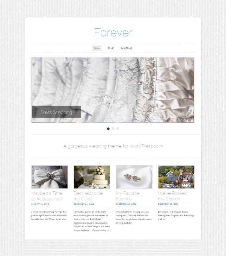 free forever wedding responsive wordpress theme 788x892