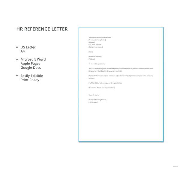370  hr letter templates