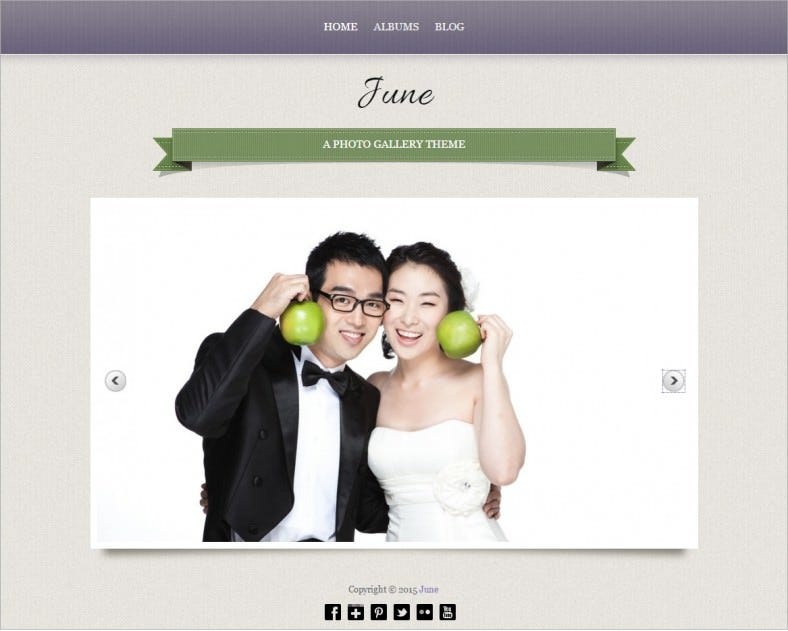 free june wedding responsive wordpress theme 788x631