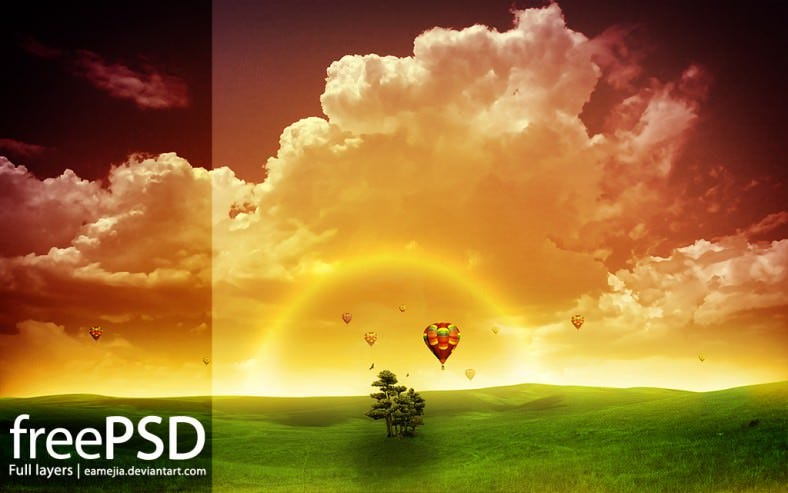 free psd full layerd 788x493