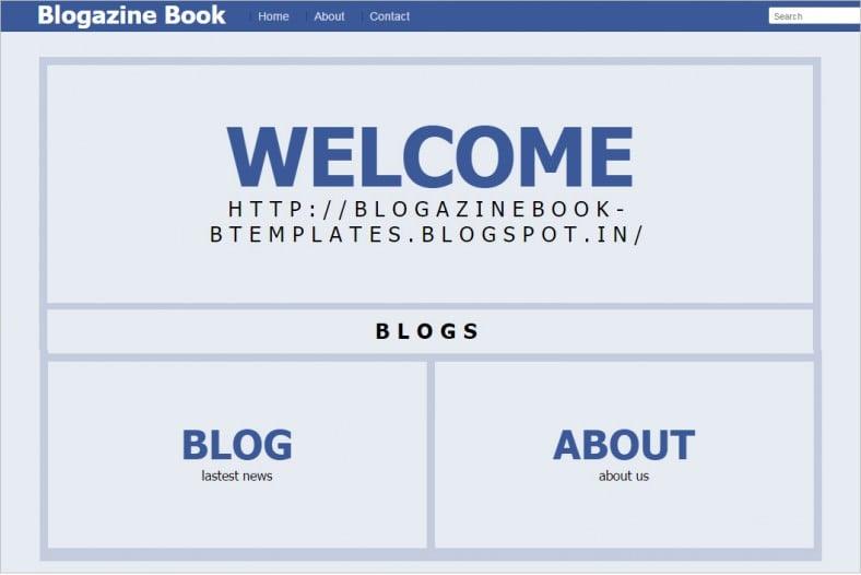 6+ Best Book Blogger Templates & Themes | Free & Premium