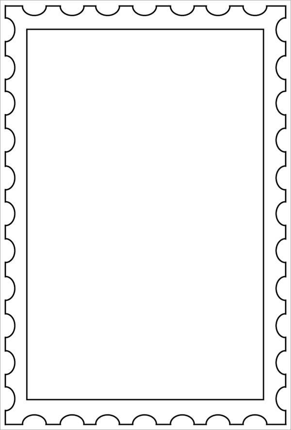 Stamps Template  BesikEightyCo