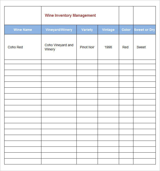 inventory management template 8 free excel pdf
