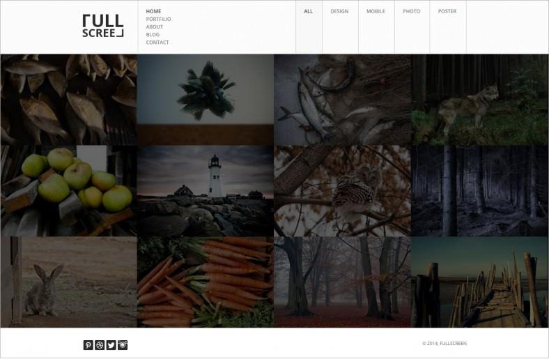 fullscreen photography portfolio drupal theme 48 788x515