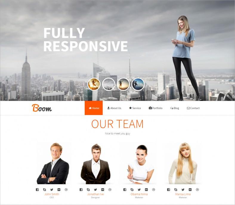 fullscreen responsive onepage drupal theme 43 788x688