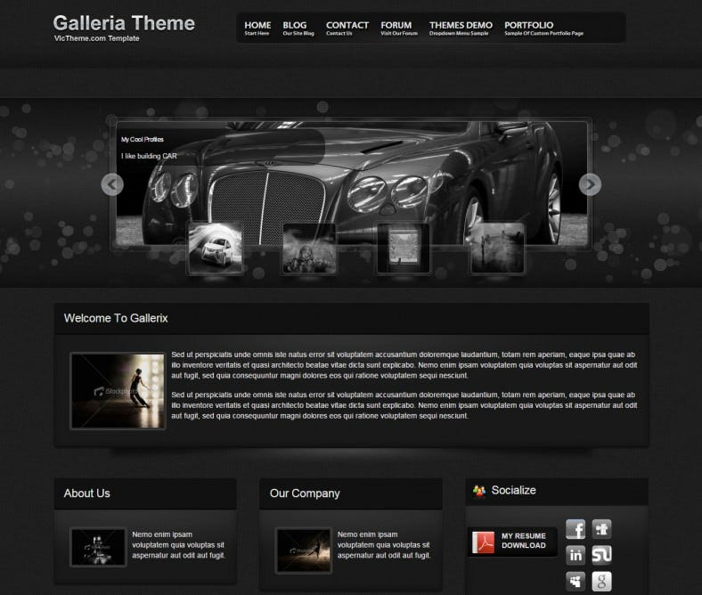 galleria premium drag and drop drupal template 20 788x668
