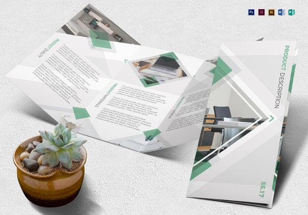 23 beautiful product brochure templates psd free for Product brochure template