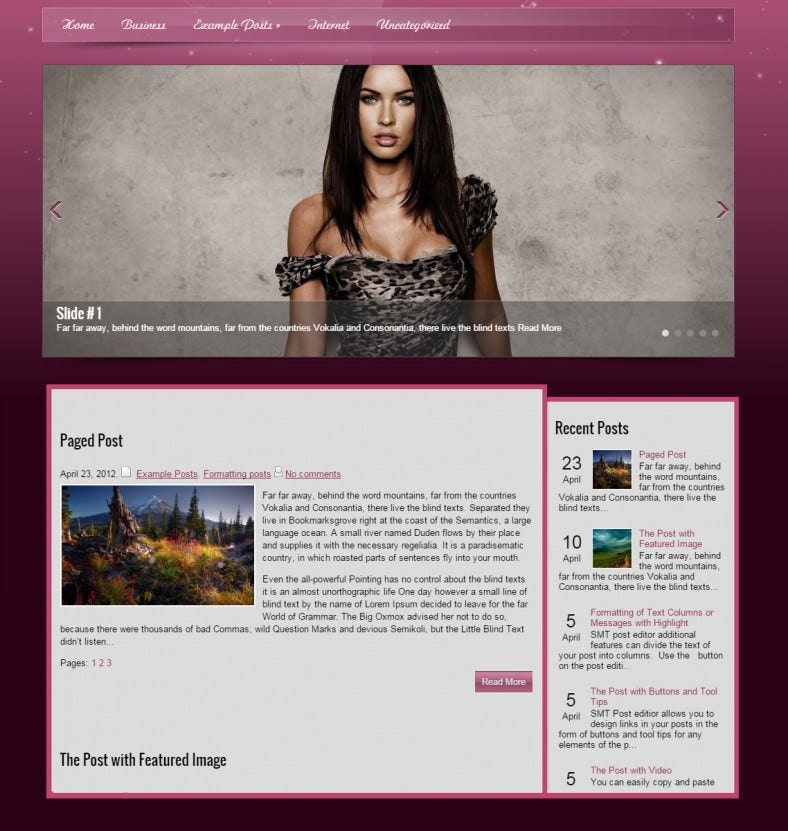 girlsbook pink responsive wordpress template 39 788x831