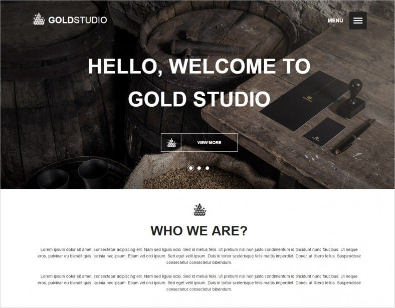 gold creative html5 template 12 788x615
