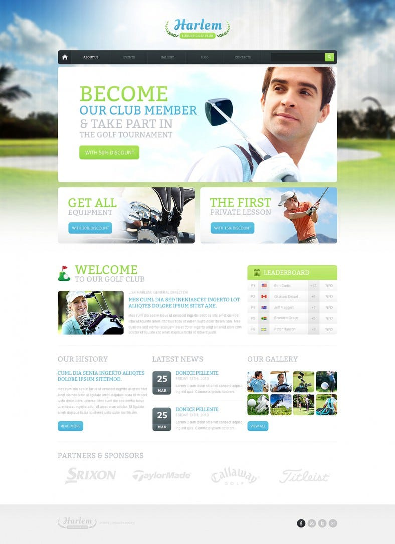 golf for better marketing drupal template1 788x1085