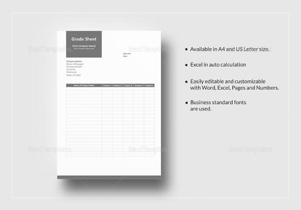 grade-sheet-template