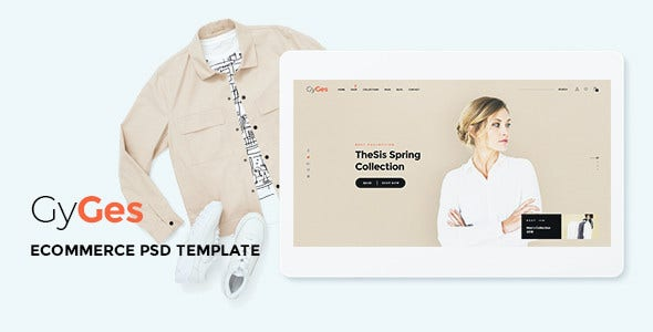 gyges multipurpose ecommerce psd template