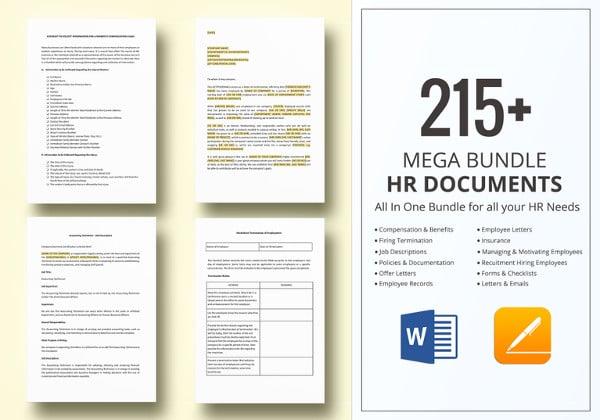 hr bundle includes checklist letters email templates etc