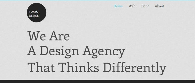 html5 agency website template 788x336