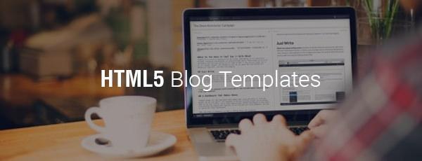 html5 blog templates