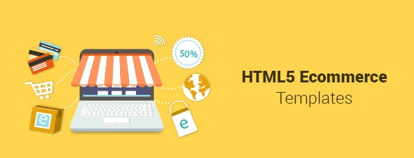 HTML5 Ecommerce Templates