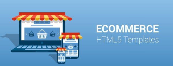 eCommerce HTML5 Templates