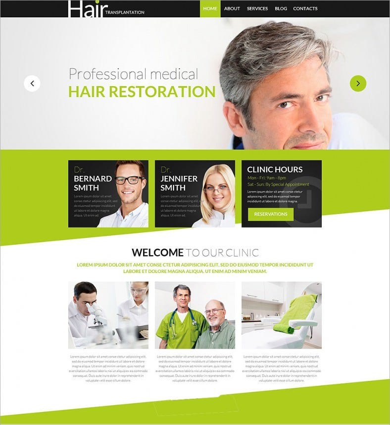 hair transplantation acupuncture wordpress theme 75 788x858