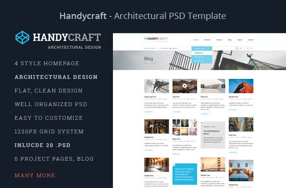 Architecture Design Template 14 psd templates & designs for architect | free & premium templates