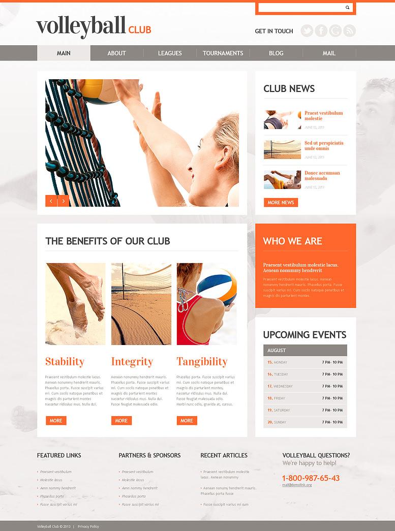happy volleyball responsive wordpress theme 75