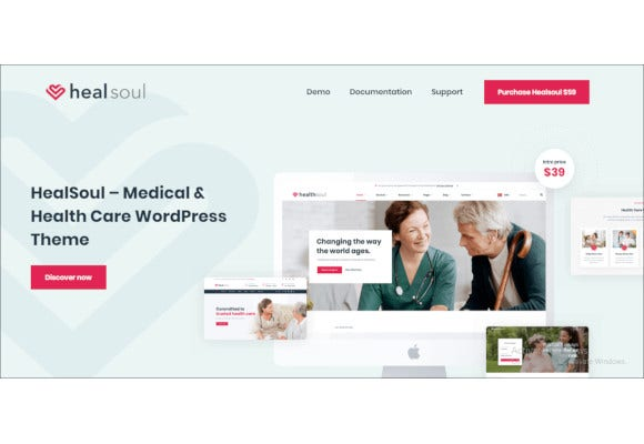 health-care-service-wordpress-website-template