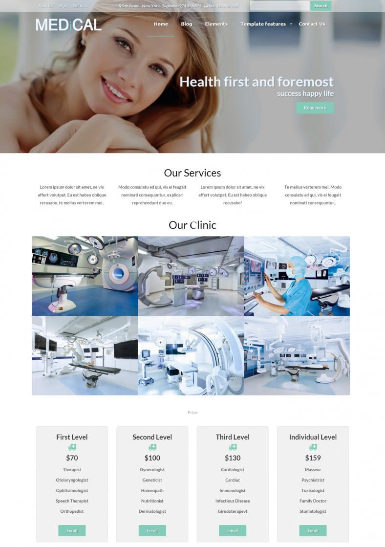 healthcare drupal theme 788x1119