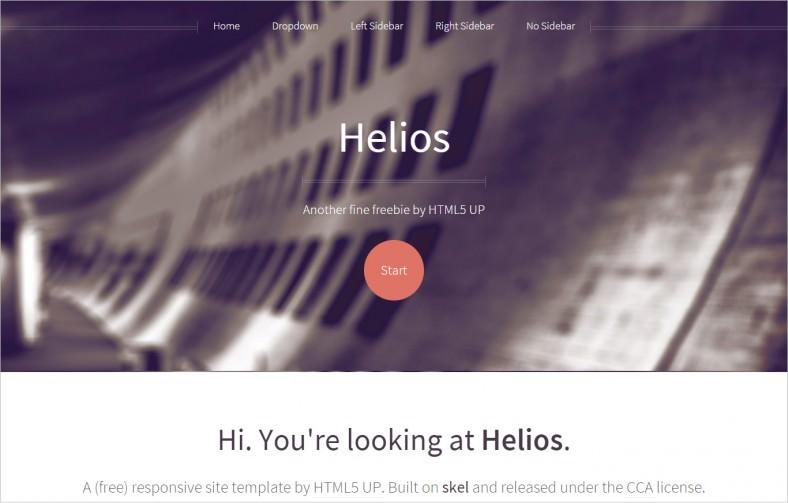 helios responsive html5 788x503