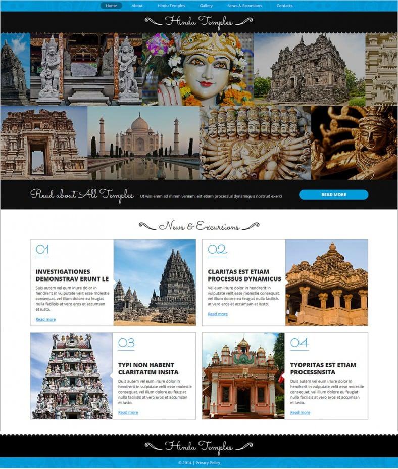 hinduism responsive joomla template 75 788x928