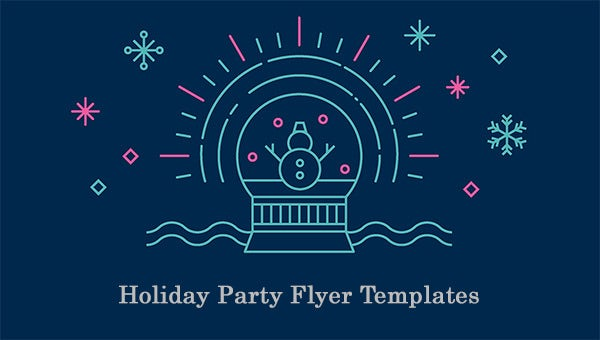 holidaypartyflyertemplate