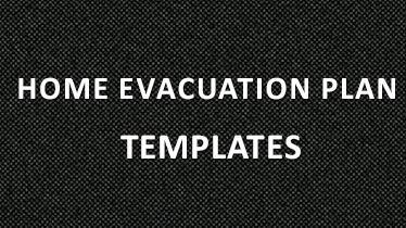 home evacuation plan templates