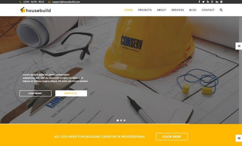 housebuild construction drupal theme 788x477