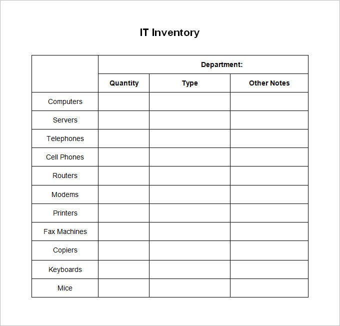 it inventory template 15 free word excel documents download