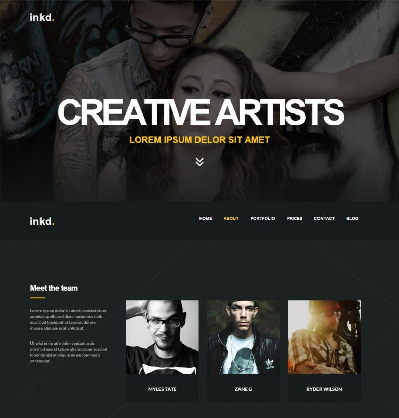 inkd artists portfolio responsive wordpress theme 43 788x825