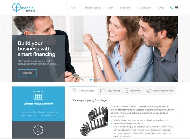 10 best insurance agents joomla templates themes free premium insurance agent joomla template 481 788x577 flashek Choice Image