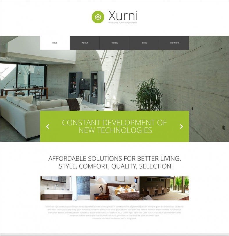 interior furniture green responsive wordpress theme 75 788x809