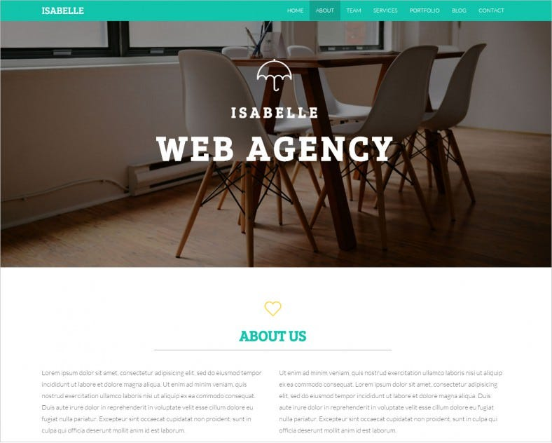 isabelle creative html5 template 7 788x632