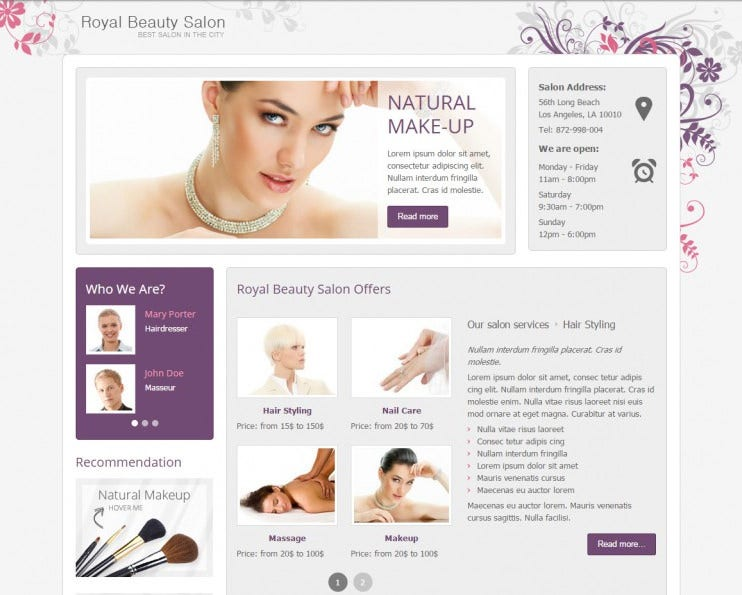 jm royal beauty salon