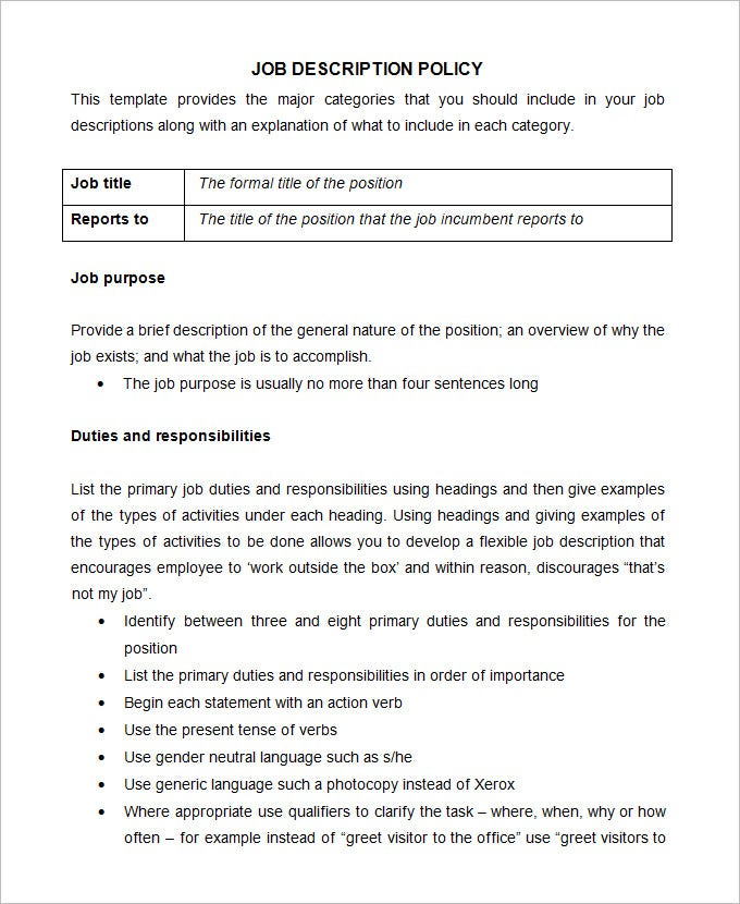 Office Manual Template The Office Policy Manual Template The The