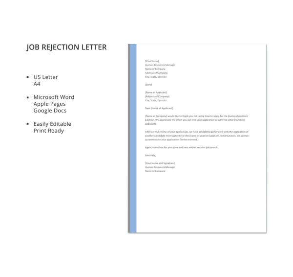 job-rejection-letter