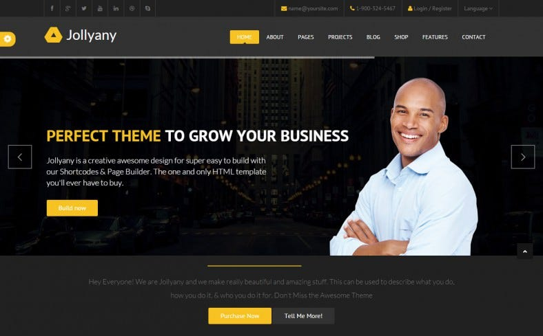 jollyany corporate multi purpose drupal theme 788x489