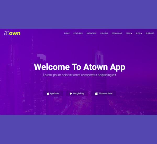 joomla app landing page