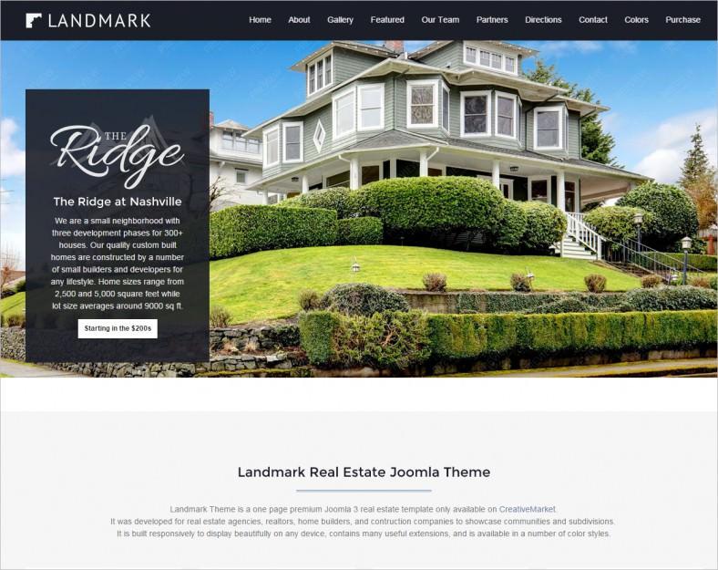 joomla real estate landing page 788x625